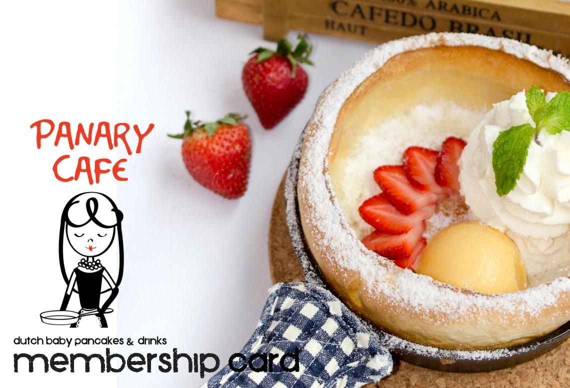 Panary Cafe Membership Card