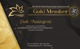 Dok Spa : Gold Member Card